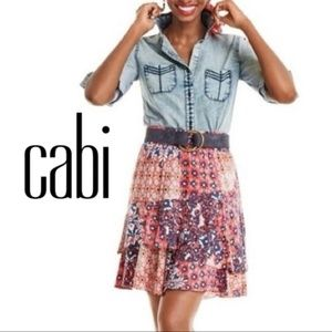 CAbi Isabel Tiered Skirt